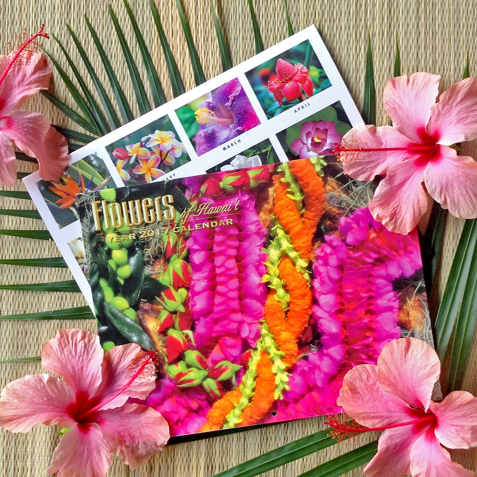 2019 Flowers Of Hawaii Calendar A Great Add On For Hawaii Lovers