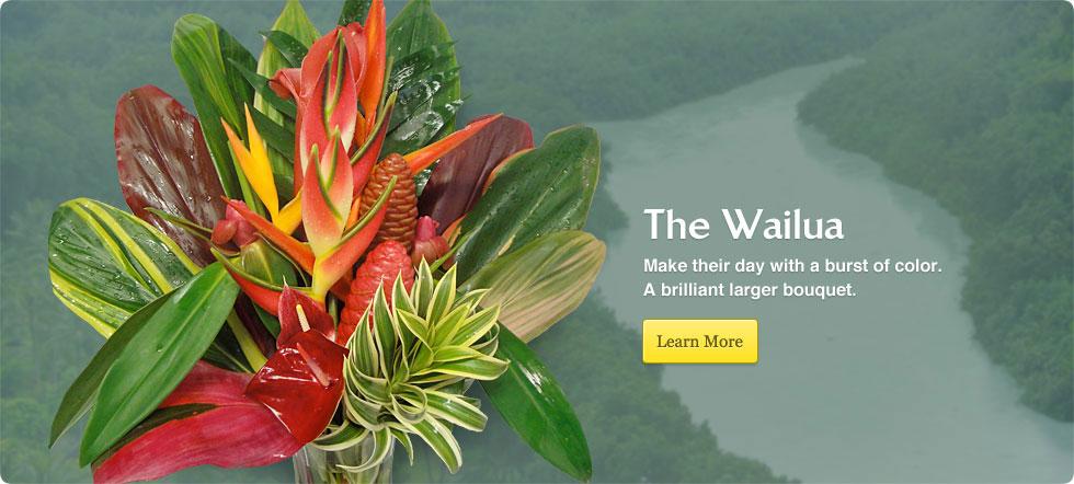 Order The Wailua Tropical Flower Arrangement *