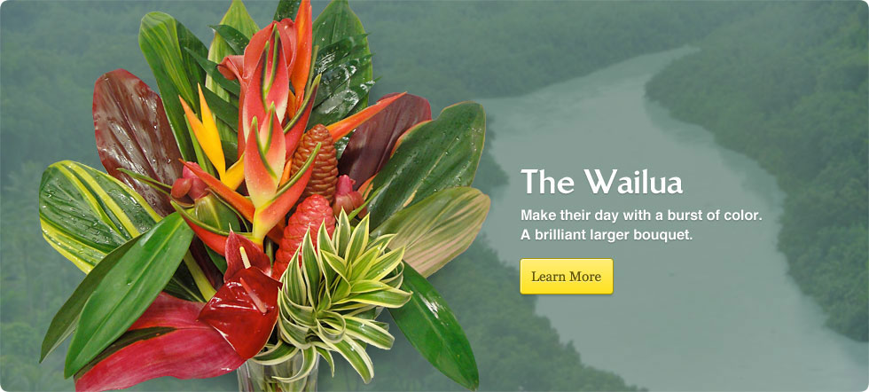 Order  The Wailua Tropical Flower Arrangement