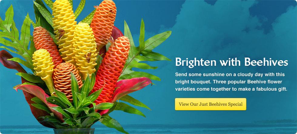 Just Beehives Tropical Ginger Flower Order